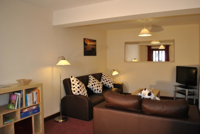 2 Bed Room Holiday Cottage Lounge at the Acland Self-catering Accommodation, Stogursey, Bridgwater, Somerset
