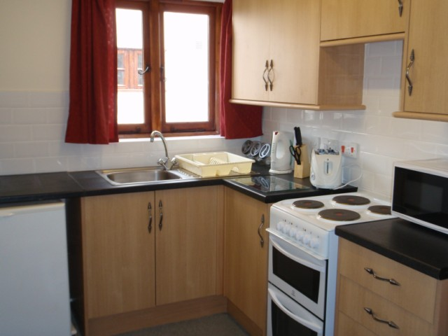 2 Bed Room Holiday Cottage Kitchen at the Acland Self-catering Accommodation, Stogursey, Bridgwater, Somerset