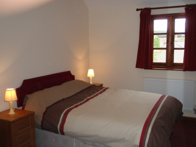 Bedroom at the Acland Accommodation Apartments Stogursey Bridgwater Somerset near Hinkley Point Power Station