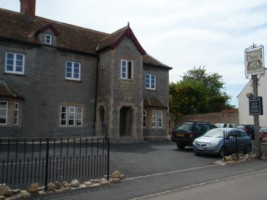 Front of the Acland. Inside is the 1 and 2 bed Hinkley Accommodation Apartments Stogursey Bridgwater Somerset